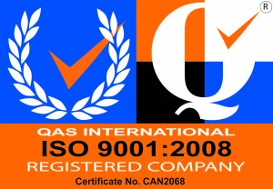 """""""CERTIFIED QUALITY SYSTEM -ISO 9001:2008"""""""